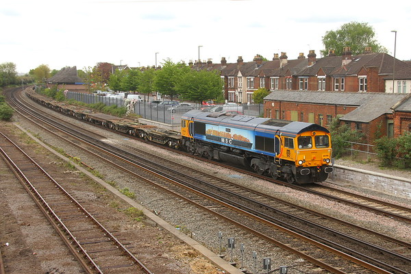 66709 Eastleigh 24/04/17 6M46 Marchwood to Bicester