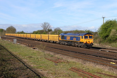 66732 Worting Junction 10/04/17 6M26 Eastleigh to Mountsorell