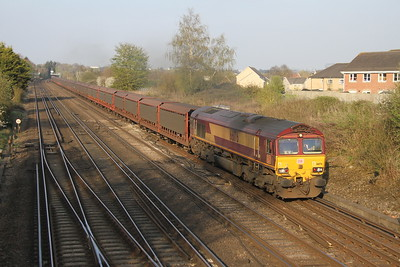 66176 Worting Junction 06/04/17 6O42 Halewood to Southampton Eastern Docks