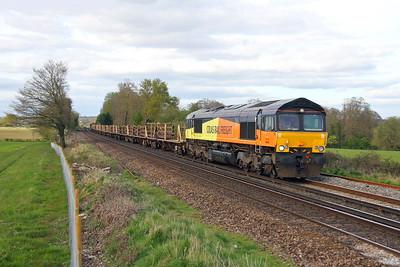 66846 Weston 10/04/17 6Y42 Hoo Junction to Eastlegh
