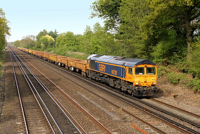 66728 Old Basing 27/04/17 6X48 Eastleigh to Hoo Junction