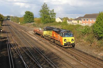 70807 Worting Junction 26/04/17 6Y42 Hoo Junction to Eastleigh