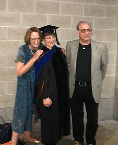 April gets her PhD