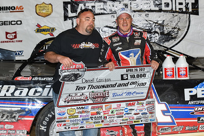 Brad McCown (L) and Darrell Lanigan (R)