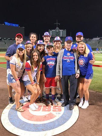 Aug. 2 - Grandpa Bill goes to Wrigley Field, Cousins Visit