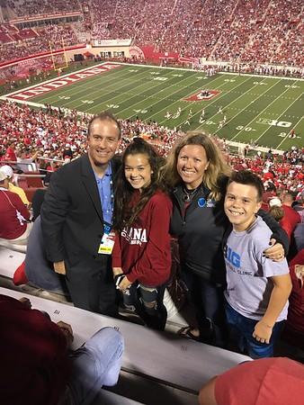 Aug. 31-Sept. 2: Indiana University Trip, Hoosiers vs. Ohio State Football