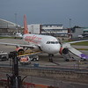 EasyJet Airbus A320 G-EZOD at London Luton Airport.