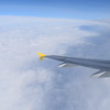 Flying from London Luton to Amsterdam Schipol on Vueling Airbus A320 EC-LZZ.