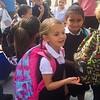 Kurtz Girls first day of school 2017 August