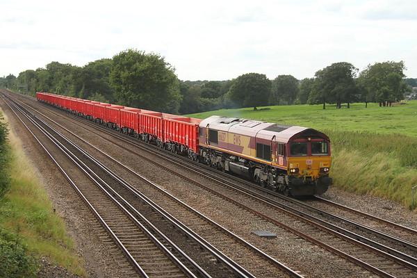 66137 Potbridge 16/08/17 6Z86 Southampton Up Yard to Wembley