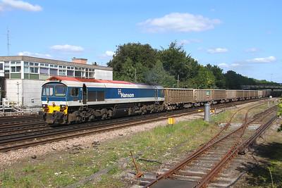 59102 Basingstoke 25/08/17 7V12 Woking to Merehead