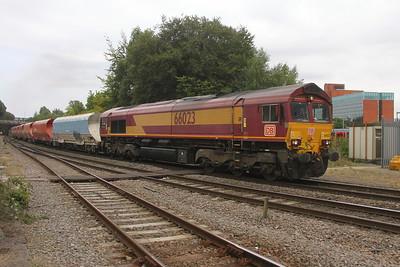 66023 Basingstoke 29/08/17 6Z60 Grain to Eastleigh