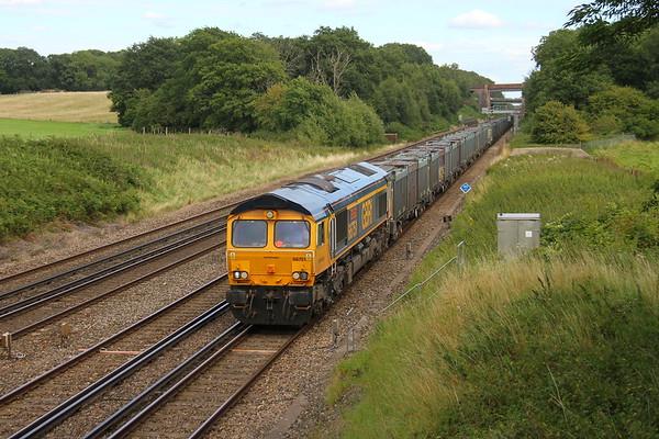 66751 Potbridge 16/08/17 4Y19 Mountfield to Southampton Western Docks