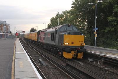 37608 Basingstoke 29/08/17 1Q52 Eastleigh to Eastleigh via Woking