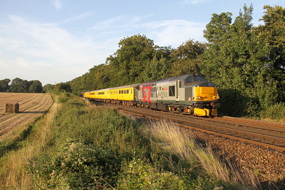 37611 Micheldever 28/08/17 1Q51 Derby RTC to Eastleigh with 37608 on the rear