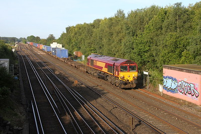 66078 Worting Junction 25/08/17 4Z52 Eastleigh to Didcot