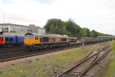 66750 Basingstoke 29/08/17 4Y19 Mountfield to Southampton Western Docks