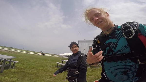 1357 Manaswita Chondway Skydive at Chicagoland Skydiving Center 20170827 Klash Klash