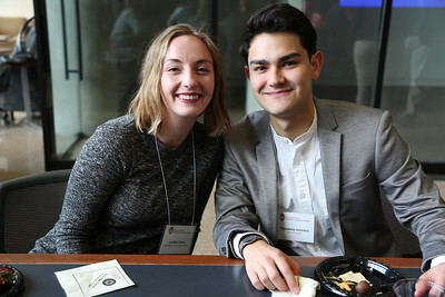 Lyman S.V. Judson & Ellen Mackechnie Judson Student Award in the Creative Arts winner Lyndsay Lewis   Theodore Jennaro
