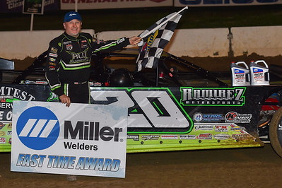 Miller Welders Fast Time Award winner Jimmy Owens