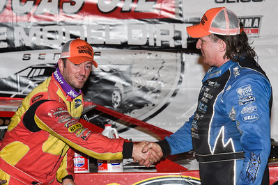 Tim McCreadie (L) and Scott Bloomquist (R)