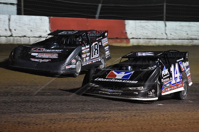Darrell Lanigan (14) and Jack Sullivan (18)