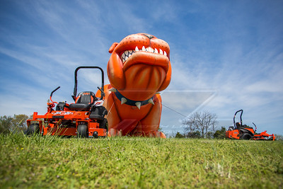 Bad Boy Mowers display