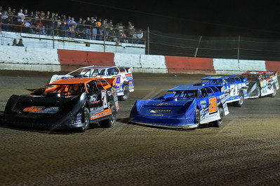 Jared Landers (777), Dennis Erb, Jr. (28), Boom Briggs (99B), Hudson O'Neal (71) and Hunter Rasdon (R5)