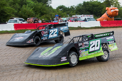 Jimmy Owens (20) and Gregg Satterlee (22)
