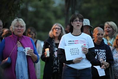 Charlottesville Vigil - Castro Valley 8-13-2017-Mickey Souza-12