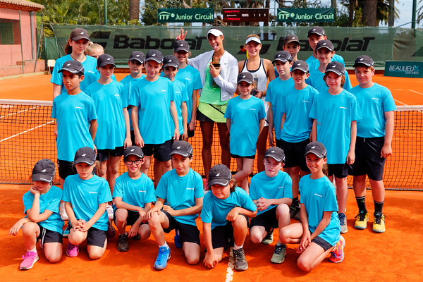 01.04a Girls singles finalists - Beaulieu-sur-mer juniors 2017