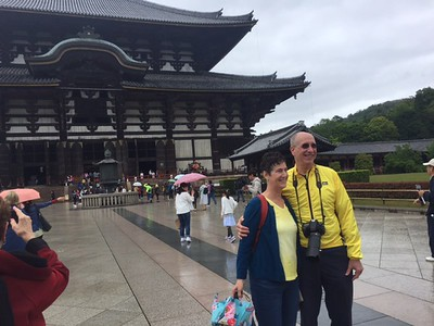 Visiting the Todaiji Temple, UNESCO World Heritage Site-Jessica Mathewson