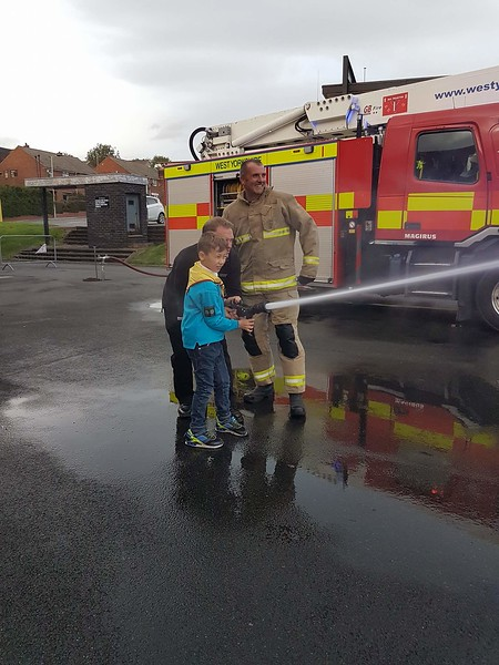 Beavers - Fire Station visit