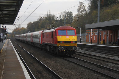 90019 Hitchin 15/11/17 1B85 Newark North Gate to Kings Cross