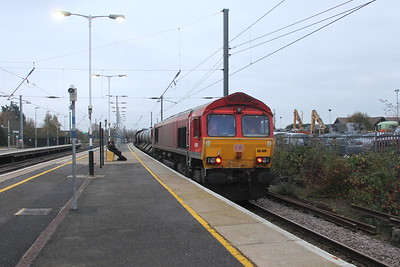 66009 Biggleswade 15/11/17 3J34 Harringay to Harringay