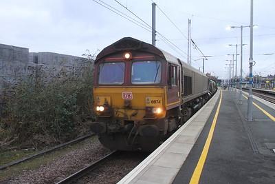 66174 Biggleswade 15/11/17 3J34 Harringay to Harringay