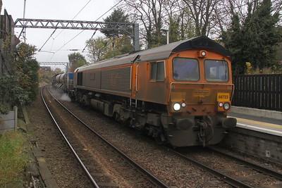 66723 Kensal Rise 14/11/17 3S81 Broxbourne to Broxbourne