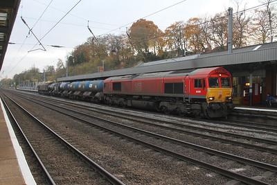 66009 Hitchin 15/11/17 3J34 Harringay to Harringay