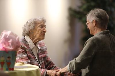 Betty Olliff's 90th Birthday