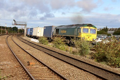 66589 0951/4o90 Leeds-Southampton passes Tyseley.