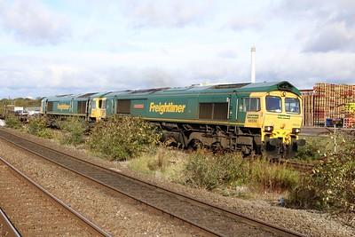 66534_66951 1101 Crewe-Southampton passes Tyseley