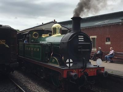 Sheffield Park & Bluebell Railway 11JUN
