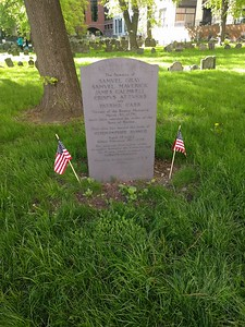 Boston Massacre victims gravesite