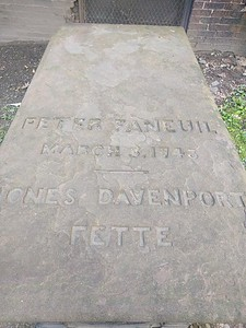 Peter Faneuil gravesite