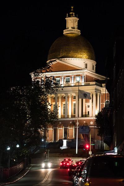 Massachusett's capitol building. Called the Massachusett's State House.