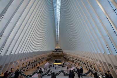 Inside the Oculus.