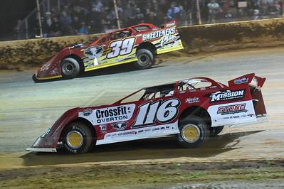 Brandon Overton (116) and Tim McCreadie (39)