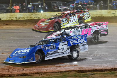 Don O'Neal (5), Michael Page (18) and Tim McCreadie (39)