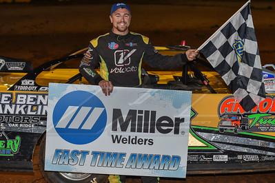 Miller Welders Fafst TIme Award winner Donald McIntosh