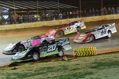 Jimmy Owens (20), Michael Page (18), Jonathan Davenport (49) and Tim McCreadie (39)